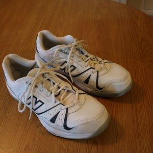 half off 57bb6 44930 New Balance Shoes - New Balance 655 White   Navy Blue Men s Cross Trai